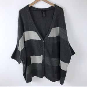 Lane Bryant sweater 18/20 gray